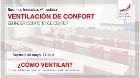 Foto de Nueva formación de Zehnder Competence Center sobre cómo ventilar