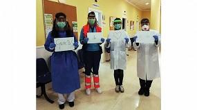 Foto de Intensa actividad de Andaltec para fabricar y mejorar equipos para luchar contra el coronavirus