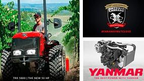 Foto de Antonio Carraro amplía la gama de tractores con motores Yanmar Stage V