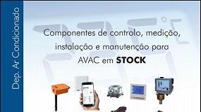 Foto de Componentes de controlo, medição, instalação e manutenção para AVAC em stock (catálogo)