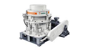 Foto de Metso presenta su trituradora de cono Nordberg HP900 para un mayor rendimiento