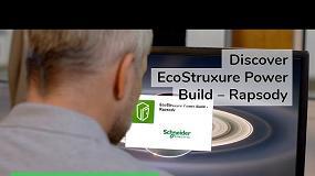 Foto de Schneider Electric lança o EcoStruxure Power Build – Rapsody