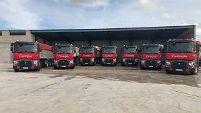 Foto de Siete tractoras Renault Trucks para Hormigones Castrejón