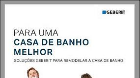 Foto de Soluções Geberit para remodelar a Casa de Banho (catálogo)
