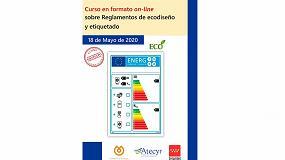 Foto de Fenercom lanza un curso online sobre los reglamentos de ecodiseño y etiquetado