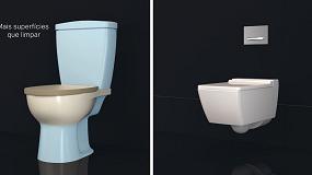 Foto de Uma casa de banho melhor com as sanitas suspensas Geberit (vídeo)