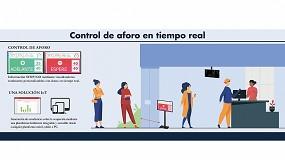 Foto de Carlo Gavazzi presenta un sistema de control de aforo automatizado en tiempo real