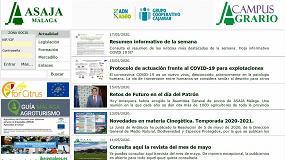 Foto de 'Campus Agrario', nueva plataforma de formación virtual dirigida al sector primario