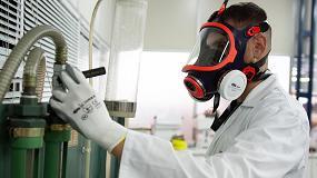 Foto de EPI en la industria química
