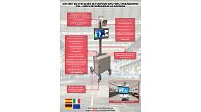 Foto de Vida IP presenta su sistema de detección de temperatura para trabajadores PRL - Servicios médicos de la empresa