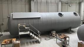 Foto de Remosa muestra el proceso de fabricación de su Roxplus en la planta de Noblejas (Toledo)
