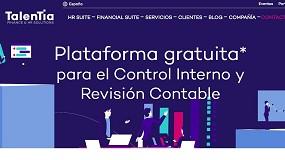 Foto de Talentia Software facilitará gratuitamente su plataforma para Control Interno y Revisión Contable