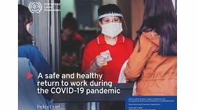 Foto de La OIT publica orientaciones para una vuelta al trabajo que garantice la seguridad y la salud