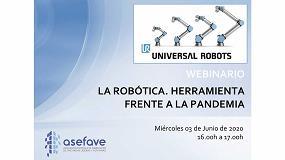 Foto de Asefave organiza un webinario sobre robótica