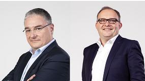 Foto de Entrevista a Patrice Métairie, director industrial, y a Stéphane Hubert, director de Experiencia al Cliente en Haulotte Group