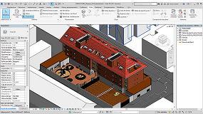 Foto de La aplicación real de las soluciones cerámicas en BIM se muestran en un edificio piloto