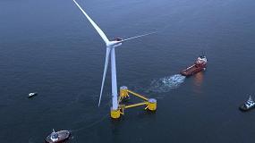 Foto de WindFloat Atlantic dá um dos últimos passos para ficar totalmente operacional