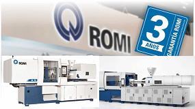 Foto de Romi conmemora su 90 aniversario y ofrece 3 años de garantía para nuevas máquinas