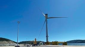 Foto de La última plataforma de WindFloat Atlantic parte hacia su destino