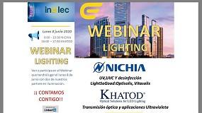 Foto de Inelec organiza dos webinars sobre Lighting el próximo 8 de junio
