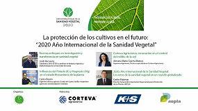 Foto de La revista Tierras analiza el futuro de la protección de cultivos en el webinar '2020 Año Internacional de la Sanidad Vegetal'