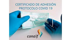 Foto de Conaif crea un certificado para empresas instaladoras comprometidas con la seguridad frente al coronavirus