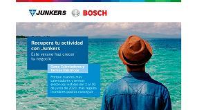 Foto de Junkers lanza su campaña de calentadores y termos eléctricos para este verano