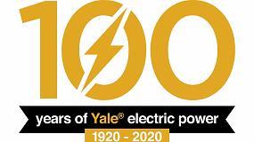 Foto de Yale celebra 100 años de carretillas eléctricas con la ampliación de la gama de productos de ión-litio