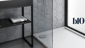 Foto de Novas bases de duche b10: design, higiene e qualidade (ficha de produto)