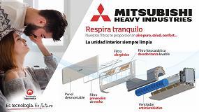 Foto de Equipos Mitsubishi Heavy Industries que mejoran la calidad del aire interior