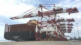 Foto de MSC hace escala en Port Barcelona con el segundo portacontendores mayor del mundo