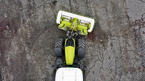 Foto de Claas mejora las segadoras frontales con un kit que reduce el solape