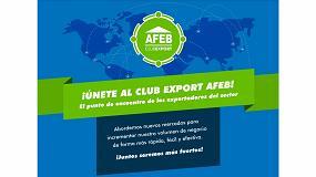 Foto de AFEB presenta Club Export AFEB, la agrupación de exportadores del sector