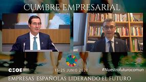 Foto de El presidente de Feique destaca a la industria química como sector clave para la recuperación económica de España