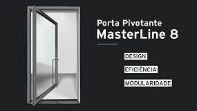 Foto de MasterLine 8 Porta Pivotante, pela Reynaers