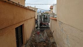 Foto de Paseando por calles estrechas y angostas con la fresadora MB Crusher