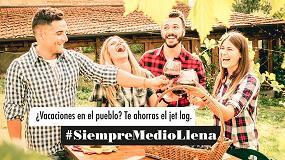 Foto de El sector del vino lanza la campaña #SiempreMedioLlena