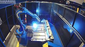 Foto de Yaskawa implementa una solución de soldadura robotizada para Hospital Metalcraft Ltd en tiempo récord
