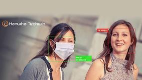 Foto de Hanwha Techwin presenta la aplicación de detección de mascarillas