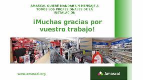Foto de Amascal agradece a todos los profesionales su compromiso con la distribución