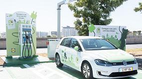 Foto de Carros elétricos: Lidl investe na instalação de 38 postos de carregamento
