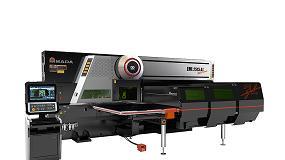 Foto de EML-AJ: Máquina Combinada Laser Fibra / Punçonadora (ficha de produto)
