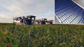 Foto de New Holland introduce una nueva malla despalilladora en las vendimiadoras Braud