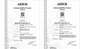 Foto de Molecor, primera empresa en conseguir la Certificación UNE-EN 17176 para sus tuberías TOM y accesorios ecoFITTOM de PVC Orientado