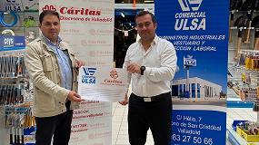 Foto de Acuerdo de colaboración entre Comercial Ulsa y Cáritas Diocesana