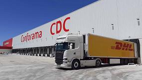 Foto de DHL gestiona la nueva plataforma logística de Conforama