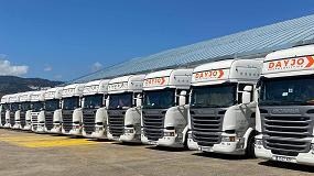 Foto de Dayjo apuesta por la fiabilidad y calidad de los vehículos de ocasión de Scania incorporando 9 unidades a su flota
