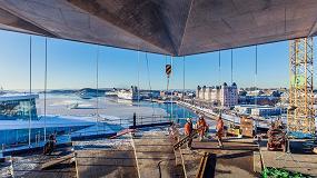 Foto de Oslo: nova Biblioteca Deichman com soluções Saint-Gobain