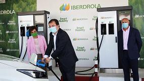 Foto de Iberdrola abre una estación de recarga