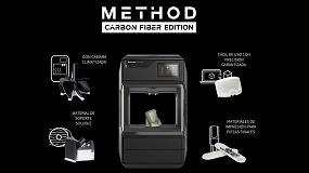 Foto de AsorCAD presenta la impresora 3D Method Carbon Fiber Edition